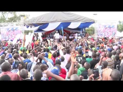 Hon  James Orengo speech in Nakuru
