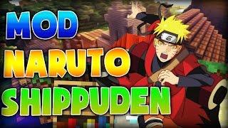 Minecraft Mod - Naruto shippuden - Mod Minecraft Review Español