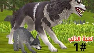 لعبة الذئب #1 | العاب حيوانات مفترسة animals Games | العاب اطفال