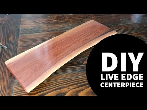 Live Edge Centerpiece
