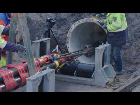 Randstad 380 kV: kabels onder Noordzeekanaal