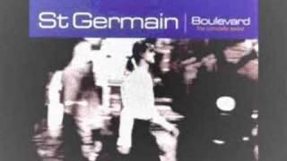 St Germain* Boulevard Street Scene
