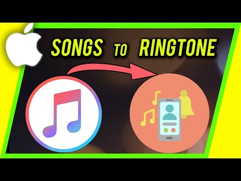 How to turn any SONG to CUSTOM ringtone on iPhone