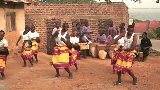 Dancing and drumming in Uganda