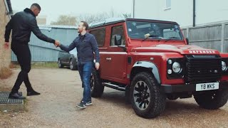 Anthony Joshua In A V8 Defender | Top Gear Taxi