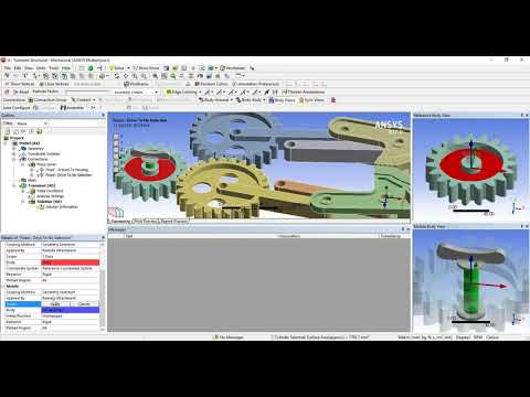Ex  19 ANSYS Program Fall 2018 KAU Faulty of Engineering