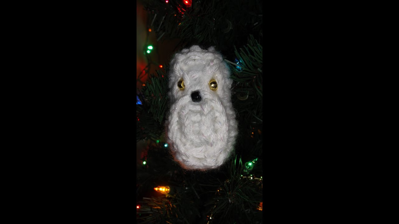 Awesome Loom Knit Christmas Ornaments Part - 5: How To Loom Knit An Owl Ornament