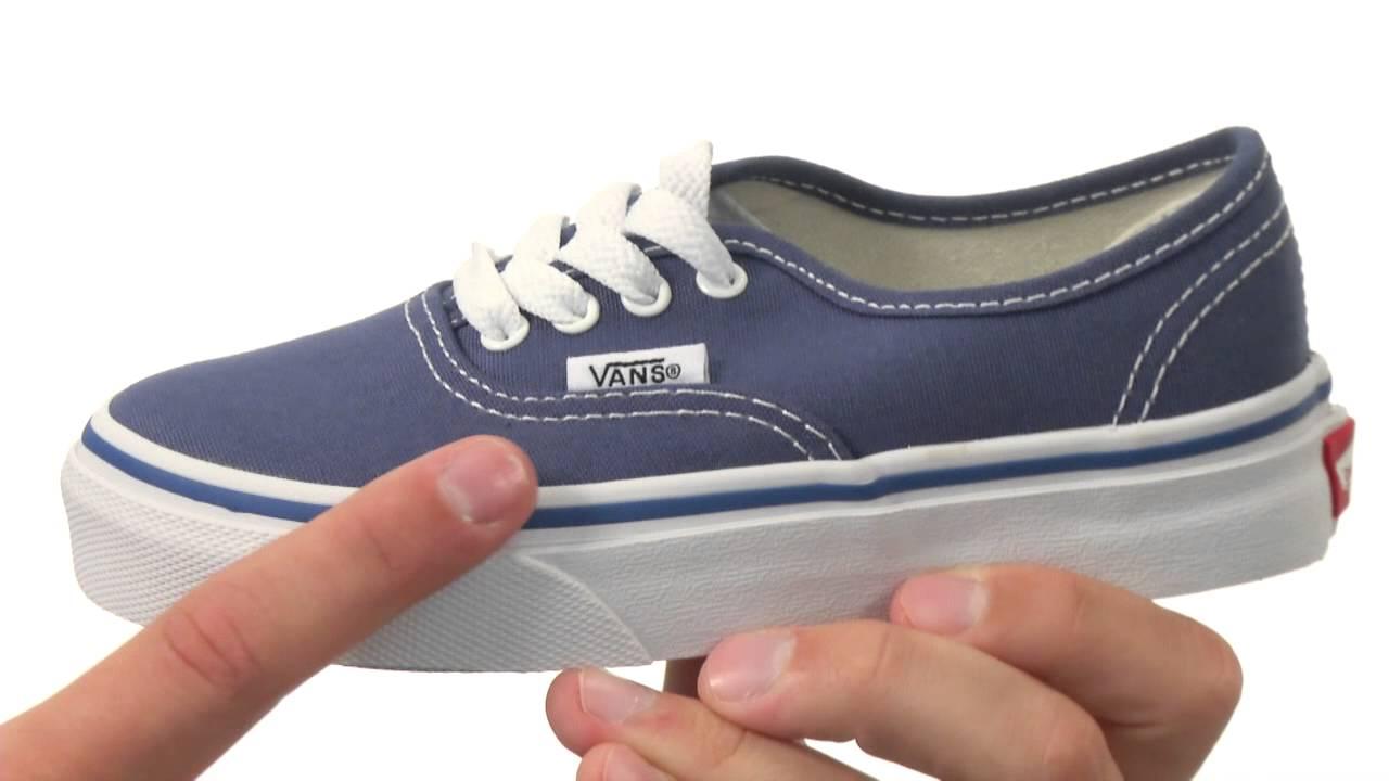 Vans Kids Authentic Core (Little Kid Big Kid) SKU 125668 - YouTube a35d664e5e