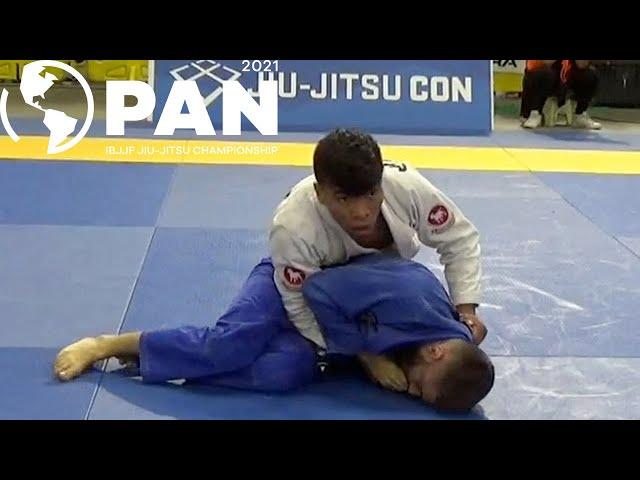 Gabriel Sousa v Thiago Brito / Pan Championship 2021