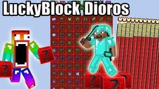 Không Nên Đập LuckyBlock Dioros Vì Nó Quá Vip* Noob Đập 101 LuckyBlock Dioros