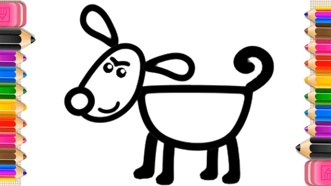 Рисование и Раскраски для детей 2, 3, 4, 5, 6, 7 лет. Учим ...