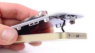 Замена батареи в iPhone 5s своими руками.