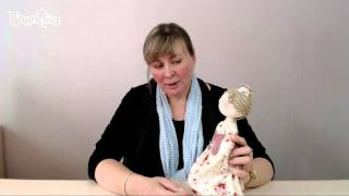 Приглашение на мастер-класс кукла Нюра