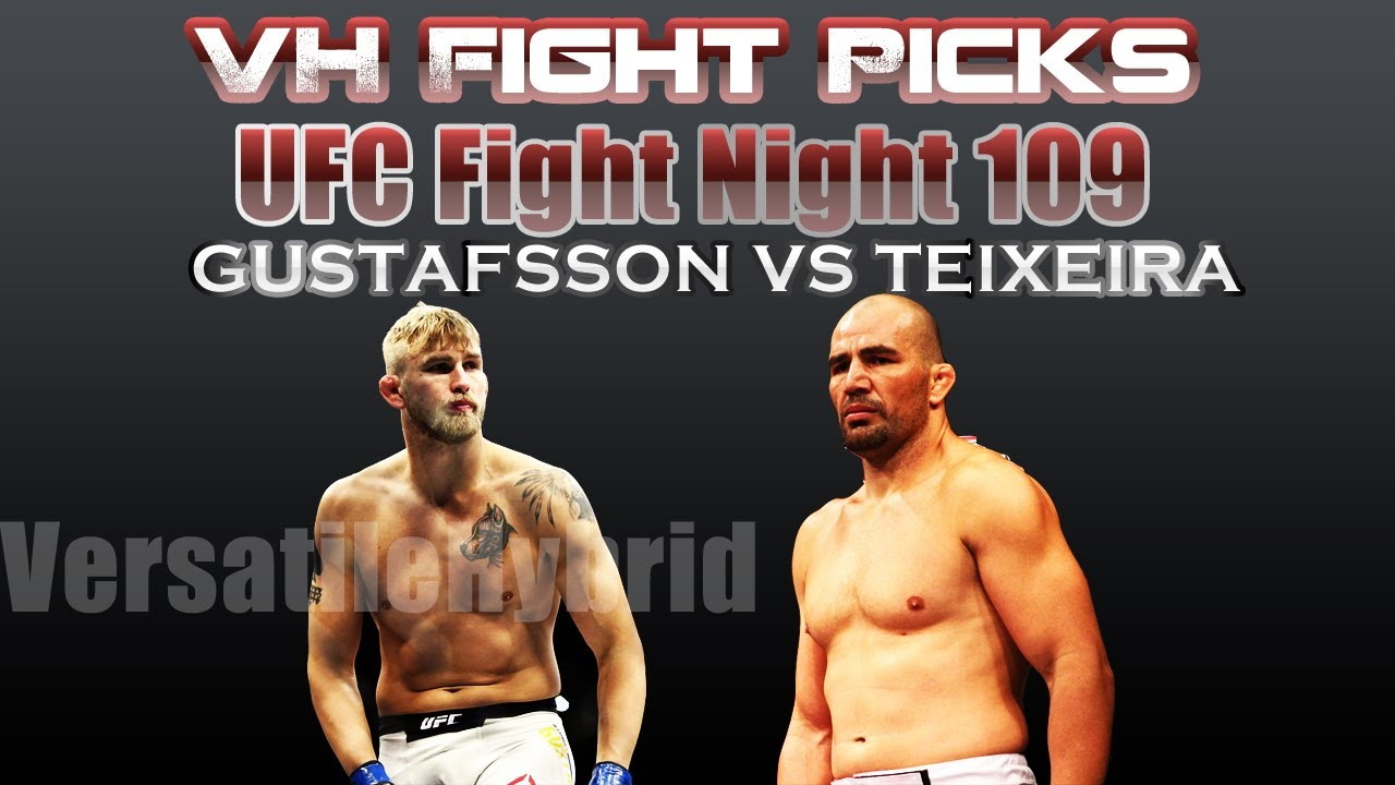 UFC Fight Night 109: GUSTAFSSO...