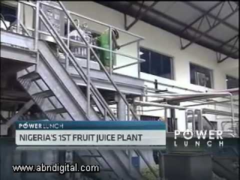 Nigeria's Fruit Juice Concentrate Plant