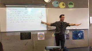 Linear Equations (Reviewing gradient & solving linear equations)