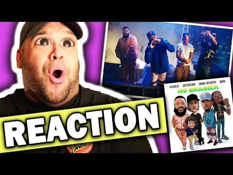 DJ Khaled ft. Justin Bieber, Chance the Rapper, Quavo - No Brainer (Official Video) REACTION
