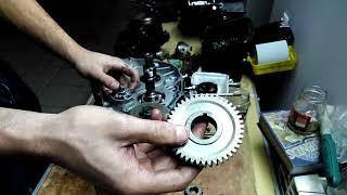 Сборка двигателя SK166FMM ч.2.