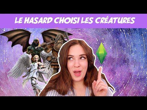 Je fais des créatures mythiques qui n'existent pas dans les Sims 4 🧚♀️🧝♂️🧙♀️ (et au hasard)
