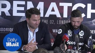 Tony Bellew discusses his fifth round victory over David Haye - Daily Mail