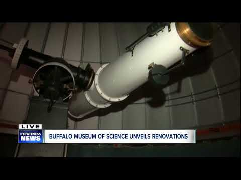 Buffalo Museum of Science Kellogg Observatory grand reopening