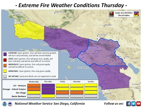 GSM Update 12/8/17 - San Diego FireStorm - Agung Plume - Mexico & Texas Snow
