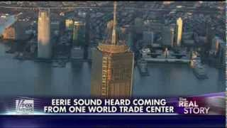 One World Trade Center : Strange Eerie sounds coming from the Economic Tower of Babel (Dec 05, 2013) thumbnail