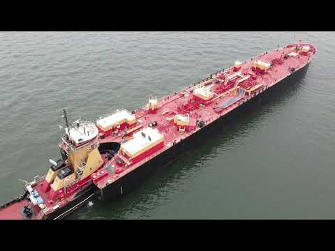 Shipspotting: Reinauer RTC-150 Tank Barge - Full HD 1080p