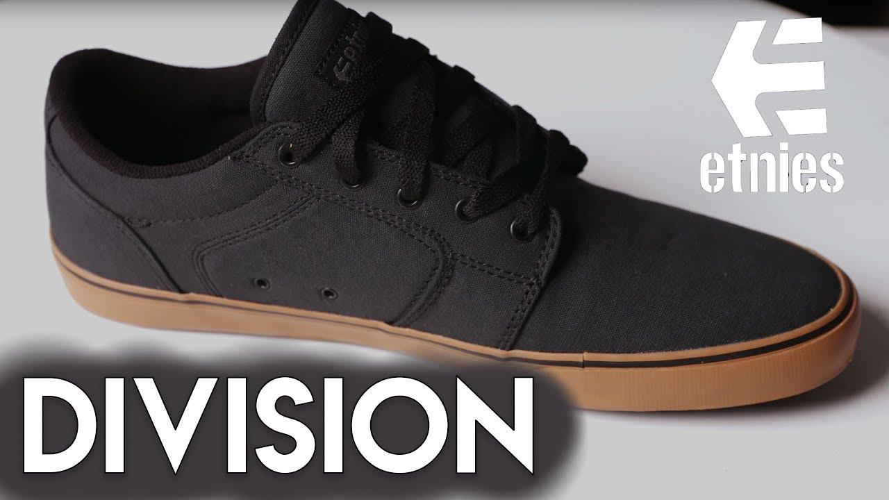Etnies Skateboard Shoes Division Black//Black