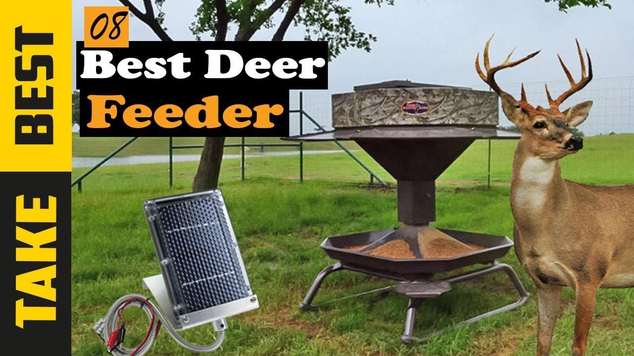 Best Deer Feeders In 2019 - Which Is The Best Deer Feeder?