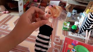 BUỔI SÁNG CỦA GIA ĐÌNH BÚP BÊ BARBIE ( The morning of the barbie doll family )