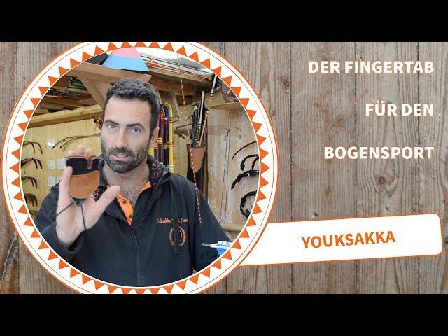 Bogenschießen FingerTab Fingerschutz und Tips für Einsteiger