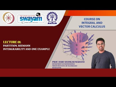 NPTEL :: Mathematics - NOC:Integral and Vector Calculus