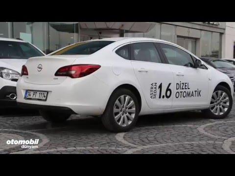 Test - Opel Astra Sedan 1.6 dizel otomatik