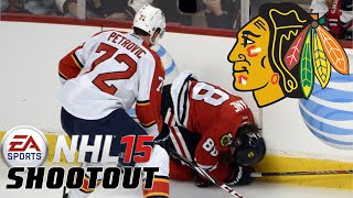 "NHL 15: Shootout Commentary ep. 55 ""Injured Kane / Chicago"""