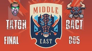 ECL 1v1 Grand Final TaToH vs BacT Middle East