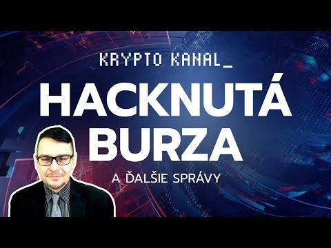 Hacknutá burza s kryptomenami + podvod menom Bitconnect [KryptoNoviny #02]