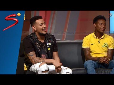 AKA and Bongani Zungu on Thursday Night Live