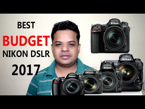 Nikon Best  5 Budget DSLR Camera review & Best Price in INDIA Year 2017 ! Must Watch