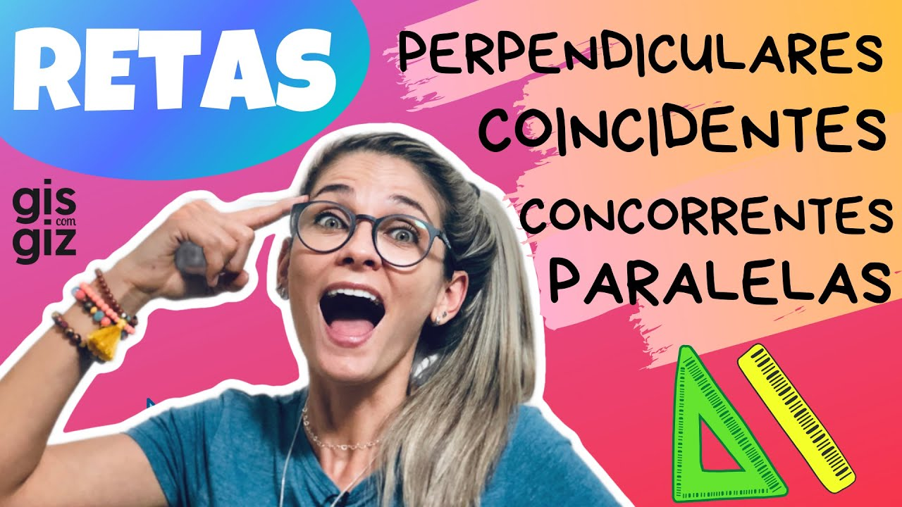 Download RETAS PARALELAS, CONCORRENTES, PERPENDICULARES E COINCIDENTES \Prof. Gis/