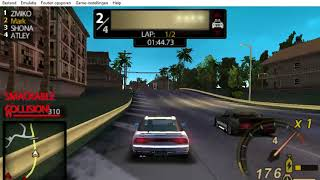Need For Speed Undercover PSP - Part 5 - Race #5 - Edgeway (Circuit)