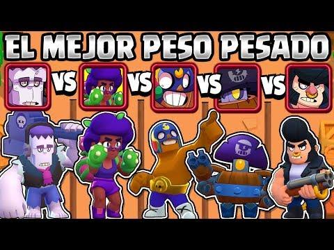 EL MEJOR BRAWLER PESO PESADO? | OLIMPIADAS De PESOS PESADOS BRAWL STARS | NUEVA BRAWLER ROSA