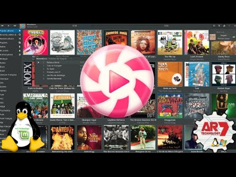 Linux Mint 18 Sarah - Lollypop Installation (Music Player)