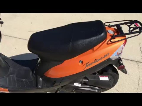 How to adjust the idle screw on a TaoTao ATM50-A1 GY6 50cc scooter