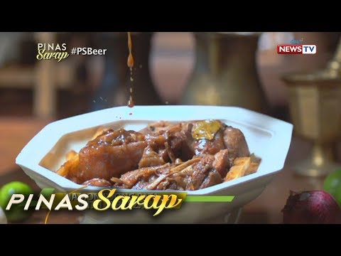 Pinas Sarap: Classic Pinoy dishes, mas pinasarap ng beer!