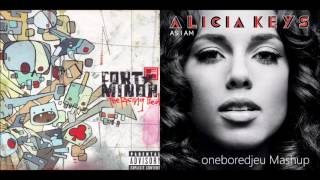 You're The One - Fort Minor vs. Alicia Keys (Mashup)