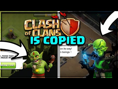 THIS GAME COPIED CLASH OF CLANS FROM HEAD TO TOE! CLASH OF CLANS•FUTURE T18