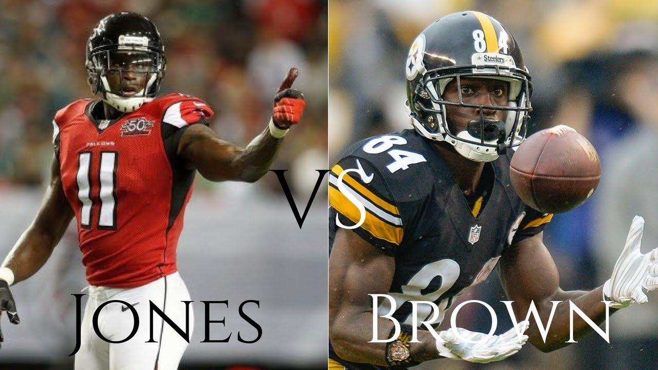 Highlight Battle Julio Jones Vs Antonio Brown