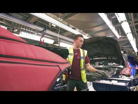 Castle Bromwich Plant Welcomes Jaguar XE