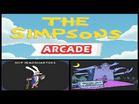 The Simpsons Arcade #05 - 60P Headquarters (Java Game)